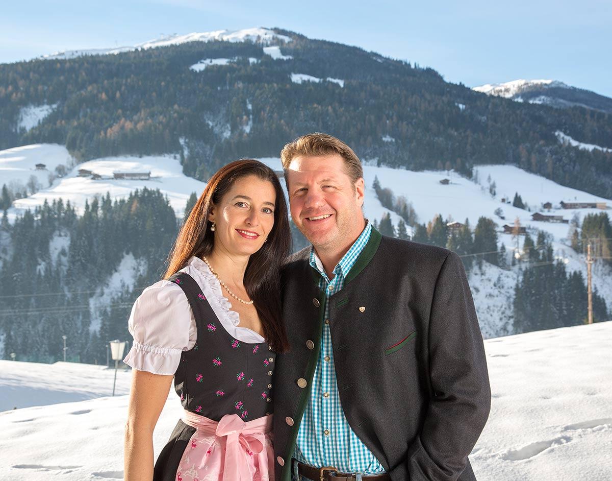 Familie Andreas und Madeleine Bischofer Alpbach Alpbachtal Tirol