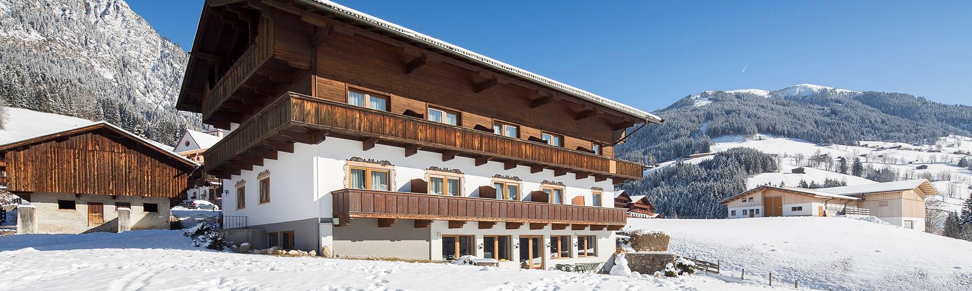 Bischofer Alpbach Hotel Haus Andreas Klara Rossstall